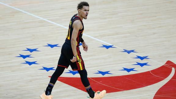 Hawks send 76ers home in Game 7 to advance to ECF