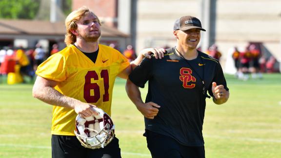 Jake Olson's next chapter: helping college athletes profit