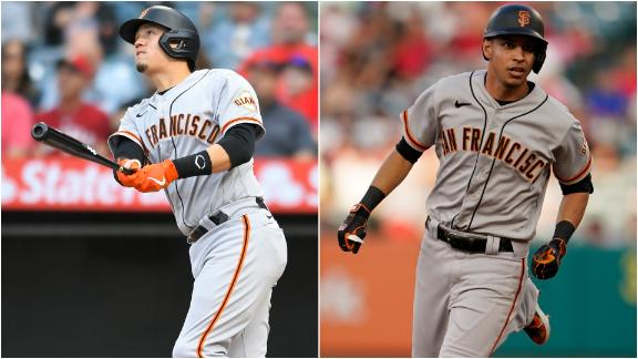 Flores and Dubon go yard early in Giants' win