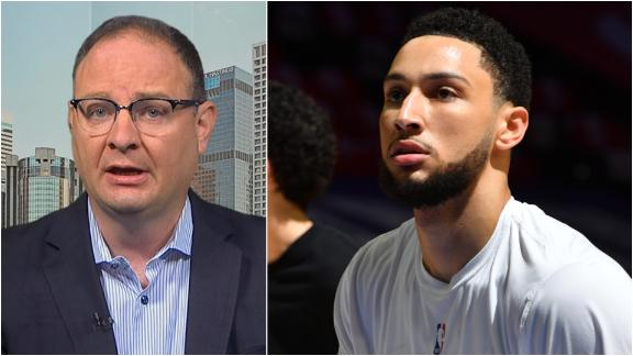 Ben Simmons' future with 76ers being discussed