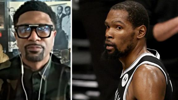 Jalen Rose: Kevin Durant is the people's champ