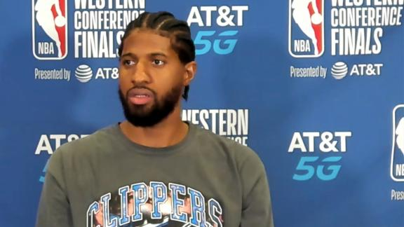 PG believes Clippers would be in Finals if Kawhi was healthy