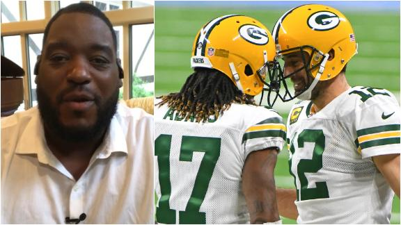 Why Damien Woody would be pulling his hair out if he were a Packers fan