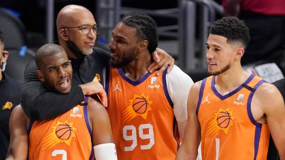 CP3 puts up 41 as Suns advance to first NBA Finals since 1993