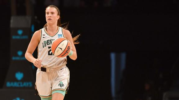 Ionescu ties career high with 12 assists