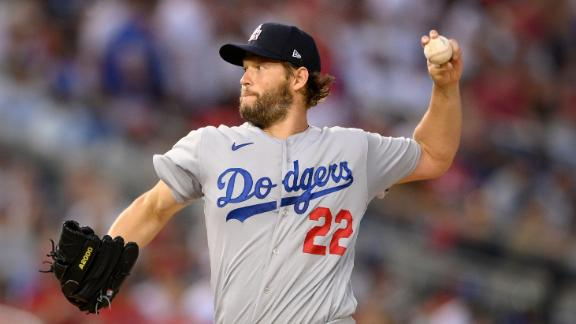 What is the state of the Dodgers with Kershaw out?