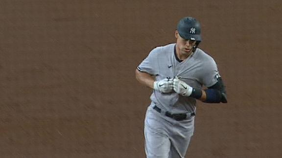 Judge sends message to Altuve on home run trot