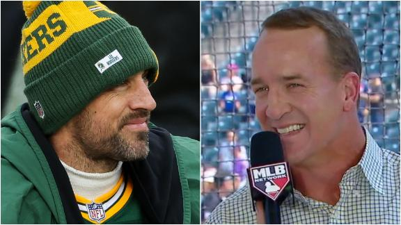 Peyton hopes Rodgers returns to Packers, doesn't expect him to be a Bronco