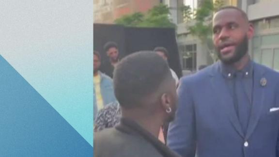 LeBron shows love to sketch comedian famous for impersonating him