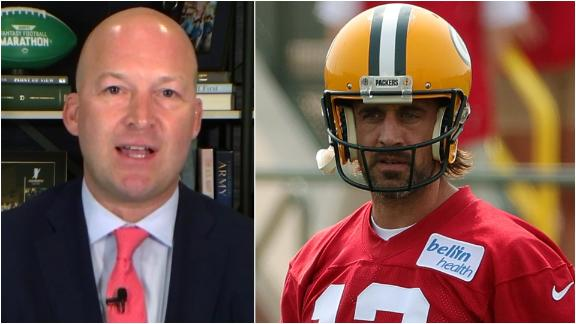 Hasselbeck: Rodgers just told Packers, 'I'm in charge here now'