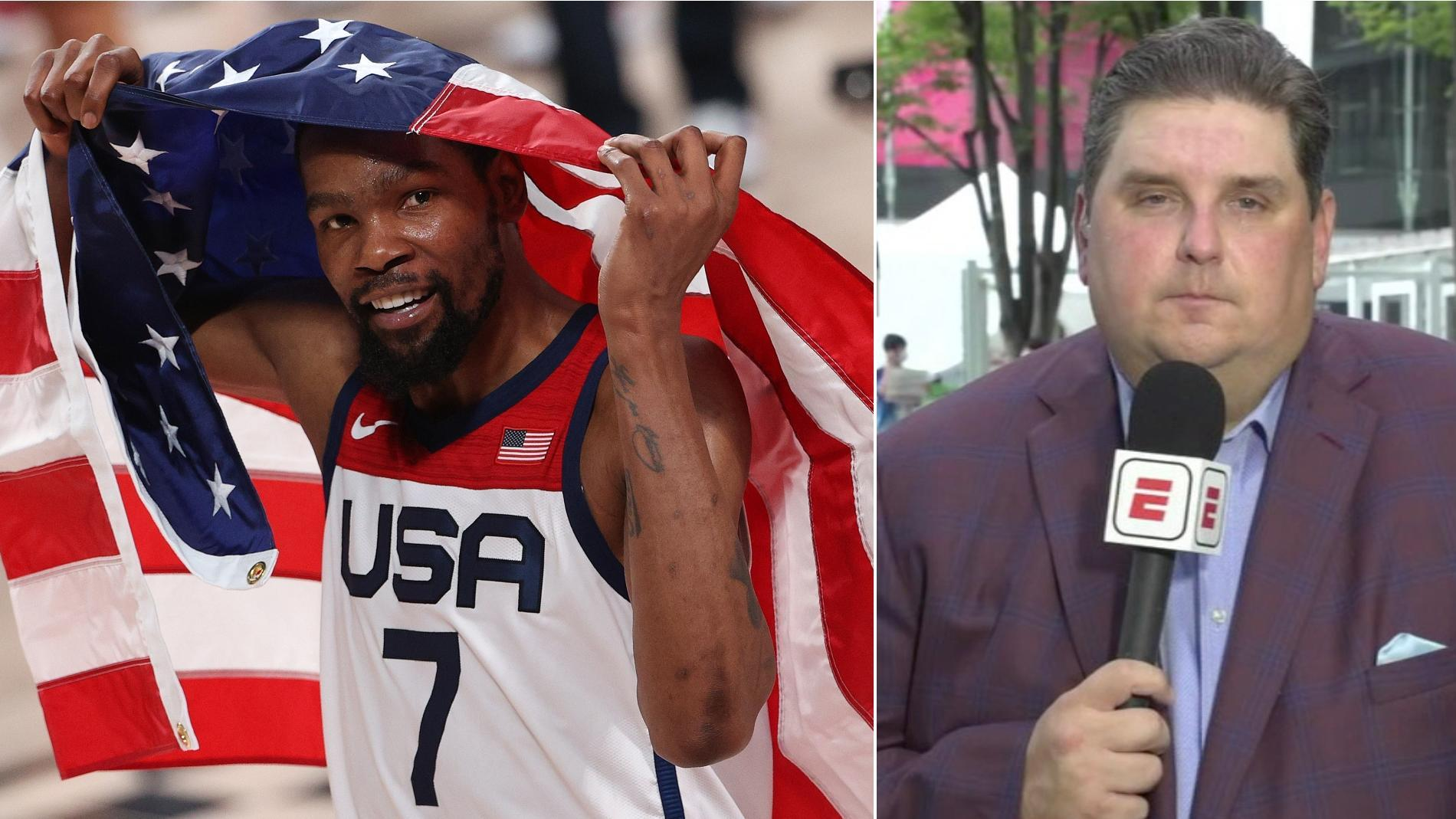 Windhorst: KD's Olympic resume 'unimpeachable' after third gold medal