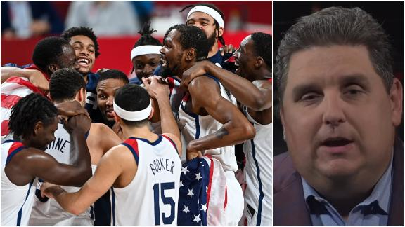 Windhorst: Team USA feeling accomplished after overcoming adversity