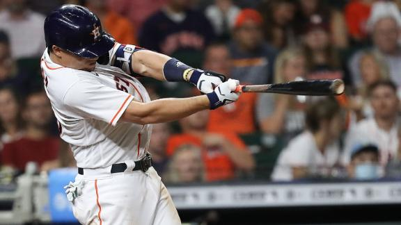 Diaz drives in three as Astros cruise over Rockies
