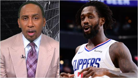 Stephen A.: Patrick Beverley will be a big loss for the Clippers