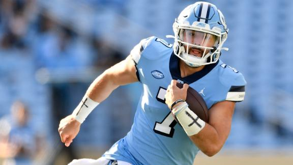 The highlights that make UNC's Sam Howell a Heisman candidate