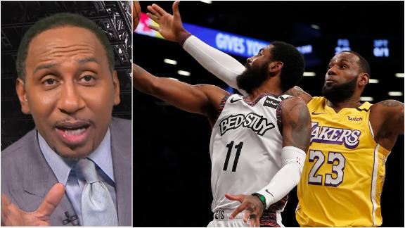 Stephen A. gets pumped for the NBA Christmas slate