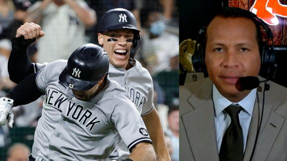 Who has risen and fallen in Alex Rodriguez's power rankings?