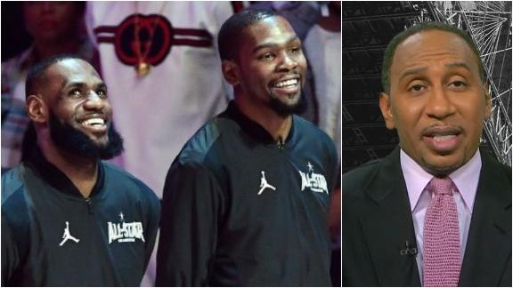 Stephen A.: 'Kevin Durant is the best player in the world, period!'