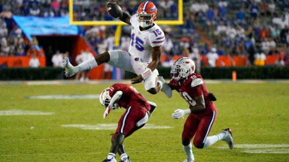 No. 13 Florida, Richardson run to win over FAU