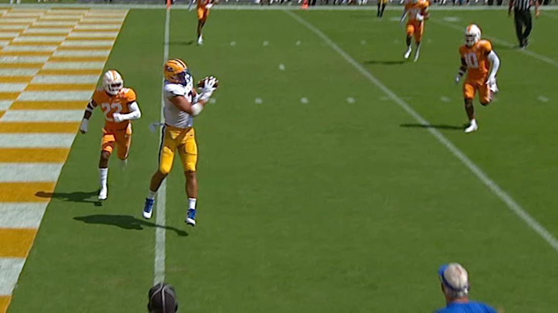 Pitt WR tosses touchdown pass on trick play