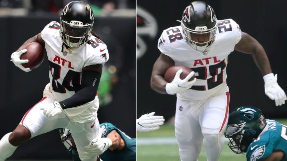 What to make of the Falcons' RB touches distribution