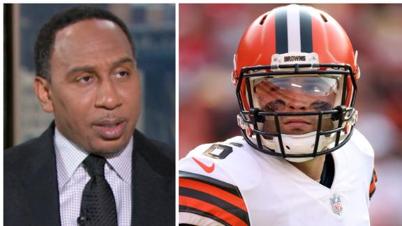 Stephen A.: Browns are a legitimate threat in the AFC North