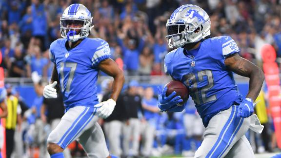 Will D'Andre Swift and Jamal Williams keep producing for the Lions?