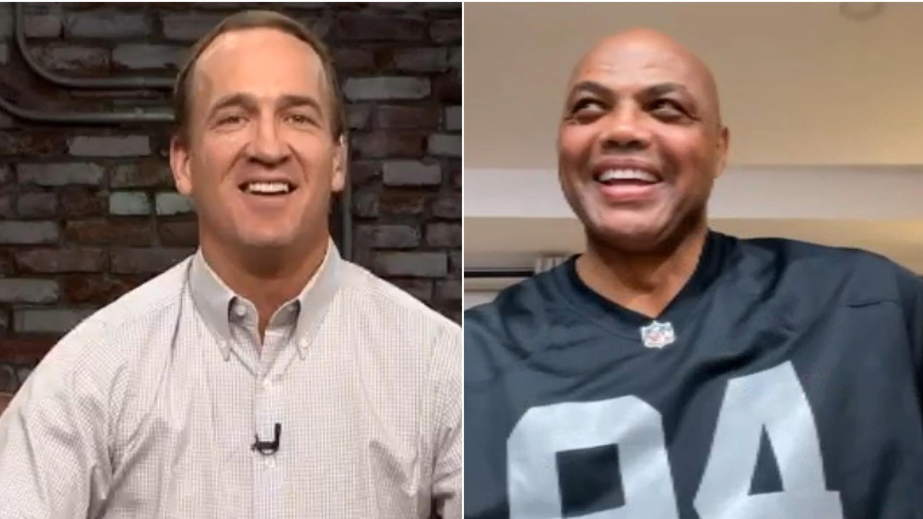 Charles Barkley reveals to Peyton and Eli why he didn't play football