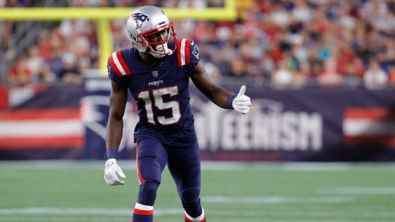 Yates: Not a stretch Agholor leads Patriots in receiving yards