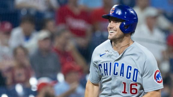 Patrick Wisdom launches 2-run HR in Cubs' win