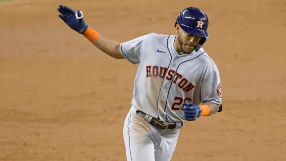 Alvarez, Siri each crank 2 homers in Astros' win over Twins