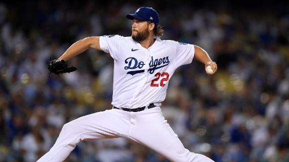 Kershaw posts 5 K's in return from IL