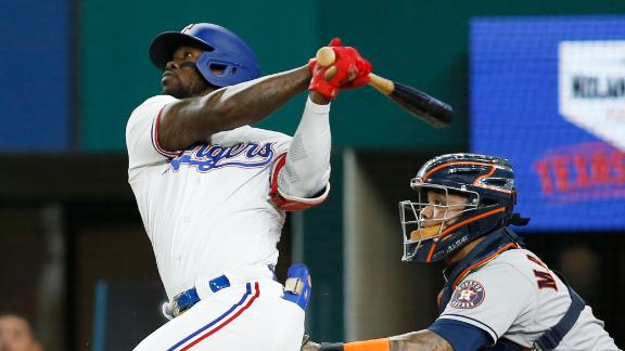 Rangers tag Zack Greinke for 3 homers in win over Astros