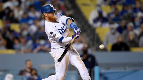 Justin Turner's solo shot pads Dodgers' lead