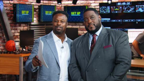 Bart Scott bets an eyebrow the 49ers will beat the Eagles