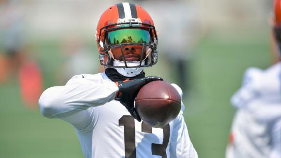 Why hasn't OBJ returned to the Browns' lineup?