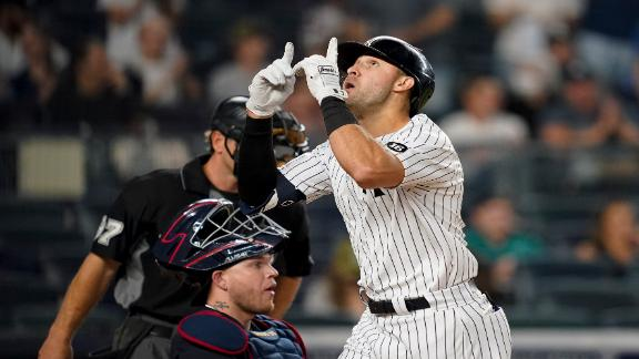 Gallo, Yankees rip the cover off the ball vs. Indians