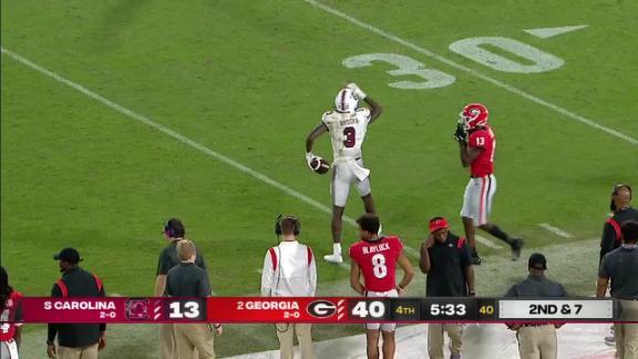 South Carolina Gamecocks vs. Georgia Bulldogs: Full Highlights