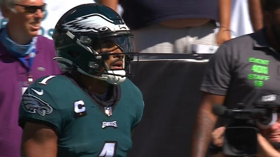 Eagles' 'Philly Special' goes awry