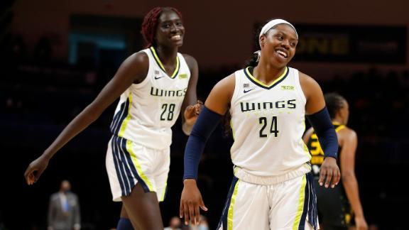 Wings eliminate Sparks behind Ogunbowale's 20-point game