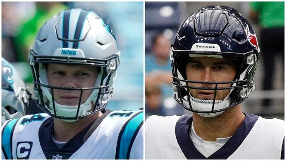 Who will prevail in Panthers-Texans?