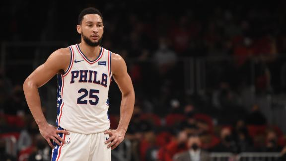 Woj: Ben Simmons intends to never play for Philly again