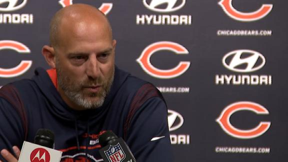 Matt Nagy announces Justin Fields will start for Bears