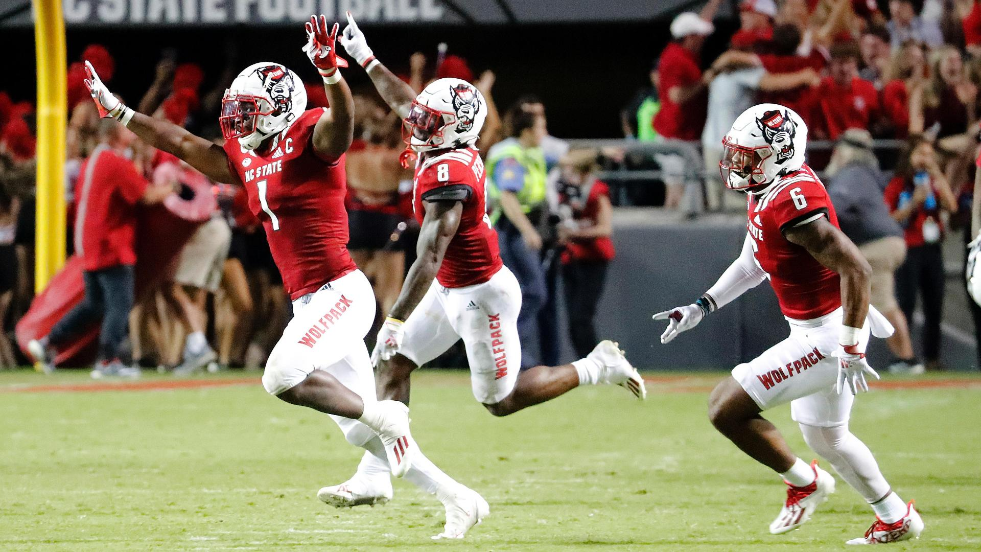 Unranked NC State stuns Clemson in 2OT