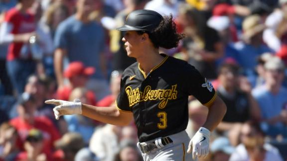 Cole Tucker's leadoff HR puts Pirates up for good over Phillies