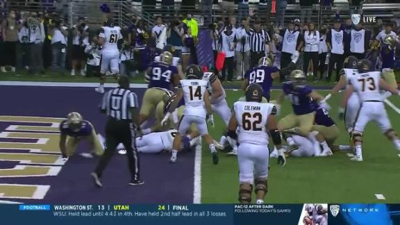 Washington forces Cal fumble at goal line to seal win in OT
