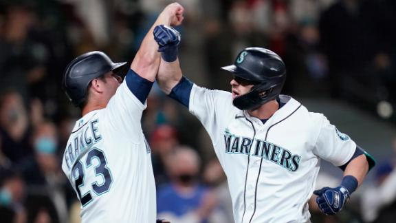 Mitch Haniger drives in six on two whopping homers