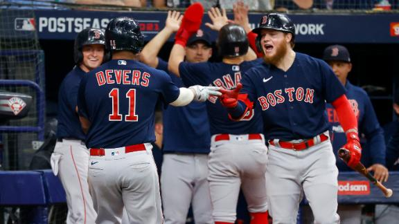 Red Sox rip the cover off the ball in comeback Game 2 win