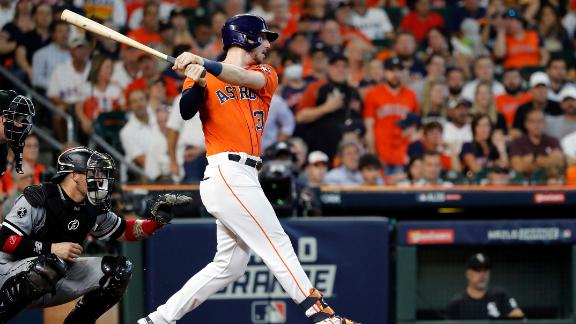 Kyle Tucker caps Astros' five-run inning with massive two-run HR