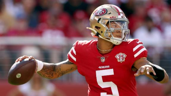 Should Trey Lance be the Niners' starter the rest of the season?